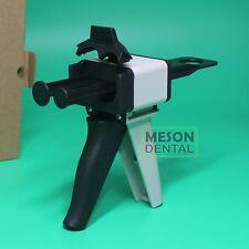 Dental Impression Mixing Dispenser Gun Caulking AB 1:1 2:1 Silicone rubber nuk