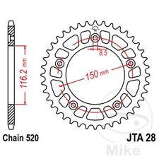 JT Rear Sprocket 42T 525P JTR300.42ZBK Steel Black Honda XL 650 V Transalp 2002