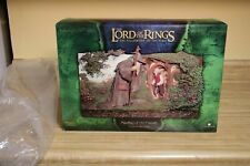 """Sideshow Weta Lord of the Rings """"Meeting of Old Friends"""" Plaque Virginia Lee New"""