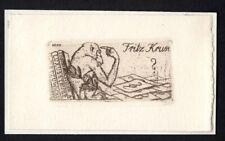 25)Nr.105- EXLIBRIS- Martin E. Philipp