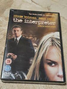 The Interpreter (DVD, 2010) Nicole Kidman, Sean Penn **BRAND NEW & SEALED**