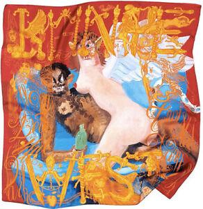 Kanye West Yeezy George Condo M/M Paris X RSVP Gallery Silk Scarf (POWER ONLY)
