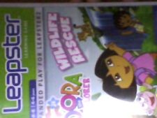 LEAPFROG LEAPSTER 1 & 2 LEARNING SYSTEM - DORA THE EXPLORER WILDLIFE RESCUE