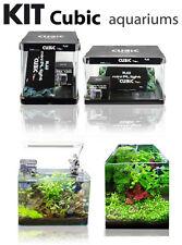 Acuario Blau aquaristic Kit aquarium cubic 32 litros
