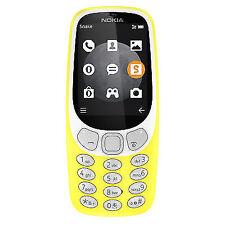 Nokia 3310 3G Yellow Unlocked GSM - FREE PRIORITY SHIPPING