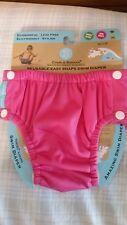 Charlie Banana Reusable Easy Snaps Swim Diaper Hot Pink Medium 1 Diaper