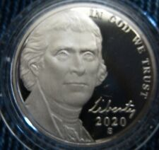 2020-s Deep Cameo Jefferson Nickel IN STOCK NOW! Ships in 24 Hours!