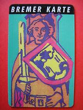 BREMER KARTE BSAG / 34_11-1989 / Roland / Abo-Monatskarte unbenutzt für Sammler