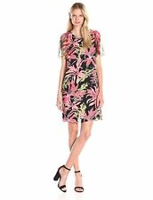 New NWT Vince Camuto Women's Wildflower Bloom Flutter Sleeve Dress Size 4
