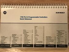 Allen-Bradley Plc-5 1785 Programmable Controllers Quick Reference Manual Guide
