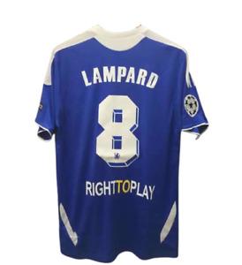 #8 Frank Lampard Chelsea FC Brand New Men's Home Blue Retro Soccer Jersey