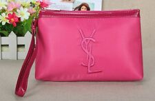 YSL Pink Makeup Cosmetics Bag with handle, Brand NEW! 100% Genuine!!