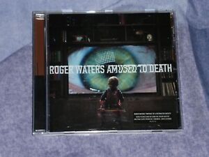 ROGER WATERS - AMUSED TO DEATH. CD ALBUM