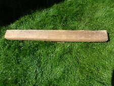 "45"" L  x 4"" x 3"" antique oak rustic fireplace floating beam mantle hook board B4"