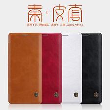 Original Nillkin PU Leather Flip Card Cover Case For Samsung Galaxy Note 8 / 9