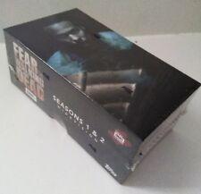Topps Fear The Walking Dead Season 1 &2 Widevision sealed box card Set + 2 autos