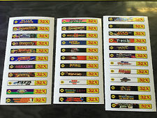 Sega Genesis 32x Sticker Labels (For All 34 Custom Cartridge Game Stickers)