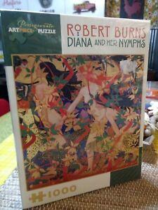 NEW Rare Pomegranate 1000 Piece Jigsaw Puzzle Robert Burns Diana Sealed A-5