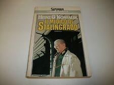 HEINZ G.KONSALIK-IL MEDICO DI STALINGRADO-SUPERBUR RIZZOLI S7-1988 MOLTO BUONO!!