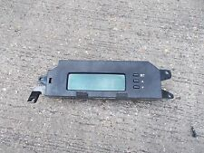 HYUNDAI I20 MK1 HATCHBACK MODELS 2008-2014 DARK GREY FASCIA LCD CLOCK DISPLAY