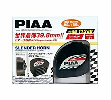 PIAA horn [Slender horn] 400Hz / 500Hz Black 2 Pieces HO-12 F/S w/Tracking# NEW