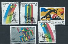 GREECE 1992 SG1891-1895 Olympic Games, Barcelona Set Mint MNH