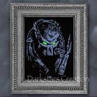 Predator Black Light Reactive Print - SurRealism Fantasy Art - DarkstarsCreation