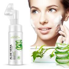 Face Deep Washing Aloe Vera Facial Cleanser Foam Skin Care Gentle Cleansing Milk