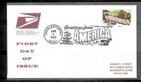 US SC # 3608 Greetings From America FDC - West Virginia - USPS Cover