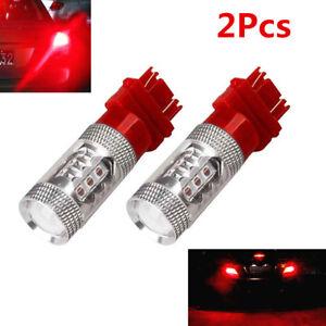2X 3157 High Power 80W LED Car Tail Brake Stop Turn Signal Light Bulb 12V-24V DC