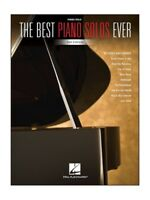 The Best Piano Solos Ever 2nd Edition Learn to Play Piano SHEET MUSIC BOOK
