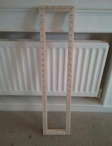 Frame/loom to make pom pom car seat hood trim 38 x 8.5 inches