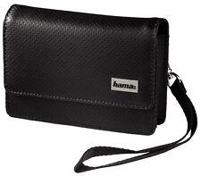 """HAMA® 93757 - Universal Navi Tasche Leder """"S1 Black&White"""" 11x7,5x2 cm - NEU !"""