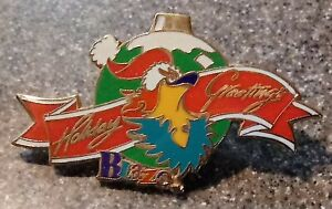 1996 Atlanta Paralympic Pin Olympic Blaze Holiday Greetings Christmas