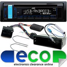 Peugeot 307 2005 On JVC CD MP3 USB Aux In Car Stereo Steering Wheel Fitting Kit