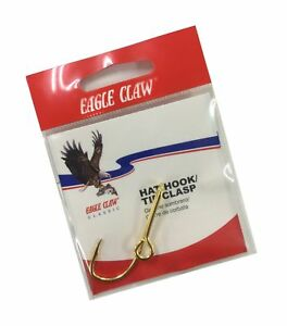 Eagle Claw 155A Classic Hat Hook, Tie Clasps