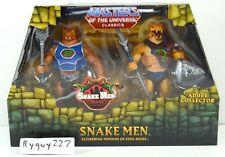 MOTUC, Snake Men 2-pack, Masters of the Universe Classics, sealed, MISB, figures