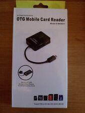 OTG MOBILE CARD READER FOR SMARTPHONE. Model S-MCR517