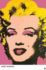 Marilyn Monroe Andy Warhol Pop Art 24x36 Fine Art Print Poster Wall Decor Z132