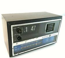 1970's GE Flip Clock Vintage Radio Alarm Clock - AM FM C4315B
