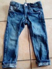 Süße Mädchen Jeans, Gr. 98, mit  Blümchen Muster