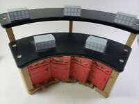 Wooden Train Railway Toys R Us Roundhouse Shed Compatible with Thomas, BRIO