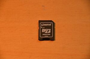 New Kingston MicroSD MicroSDHX MicroSDXC Adapter