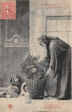 B84704 children sleeping  fir   france santa claus papa noel