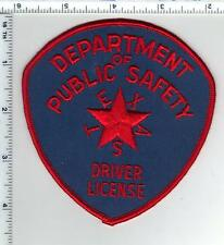 Dept of Public Safety Driver License (Texas) Shoulder Patch from the late 1960's