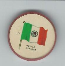 1963 General Mills Flags of the World Premium Coins #23 Mexico