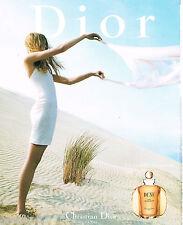 PUBLICITE ADVERTISING 065  2000  DIOR  Parfum femme DUNE