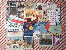 Lot of Vintage Christmas Paper Ephemera: Dealer Greeting Cards, Postcards, etc.