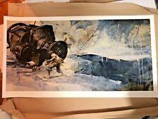 It Never Stopped Beating Ashley Wood Art Print 2012 Rare 3a Tomorrow King Oyabun