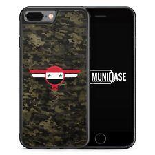 iPhone 7 Plus - Hülle SILIKON Case Syrien Syria Camouflage Militär Military Cov